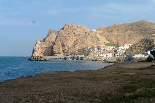 Maroc - Pointe des pêcheurs à El Jebha