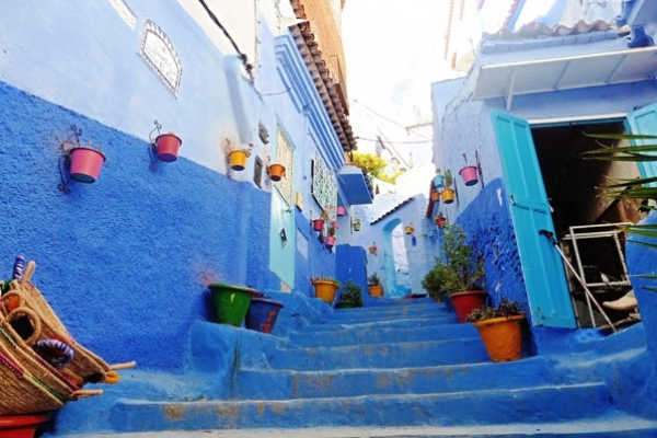 Maroc - Ruelle de Chefchaouen