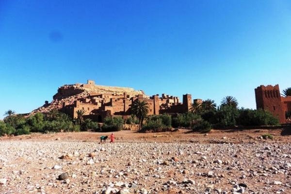 Maroc - Vue du Ksar d'Aït Benhaddou