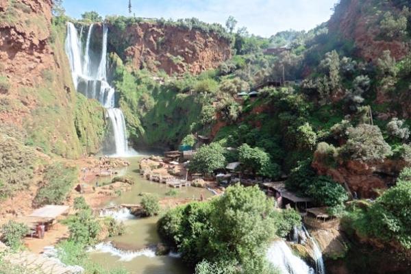 Maroc - Les cascades d'Ouzoud