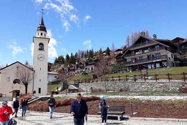 Italie du Nord - Village Chamois