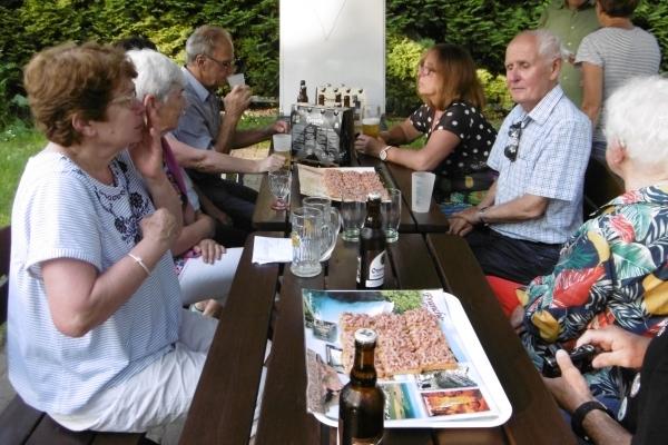 Pologne, Repas partagé dans la bonne humeur