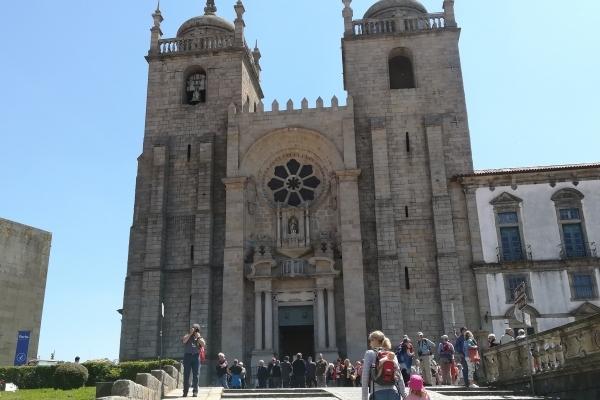 Portugal Porto cathédrale
