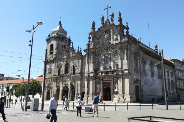Portugal Porto Eglises Carmelitas et Dos Carmo