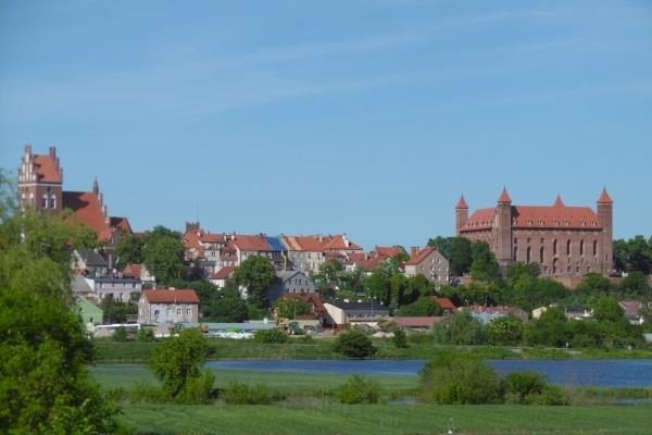 Pologne, Vue de GNIEW