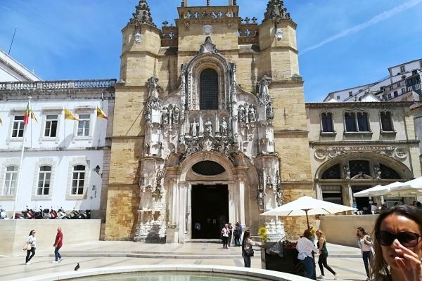 Portugal Coimbra Eglise St-Croix