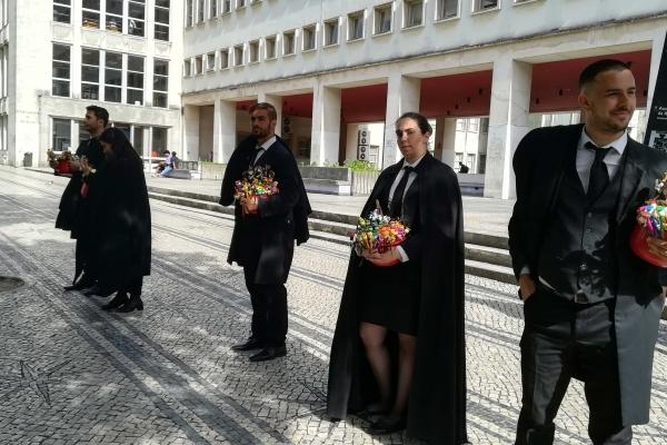 Portugal Coimbra étudiants