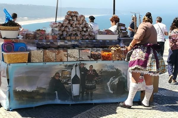 Portugal Nazaré Habit des femmes