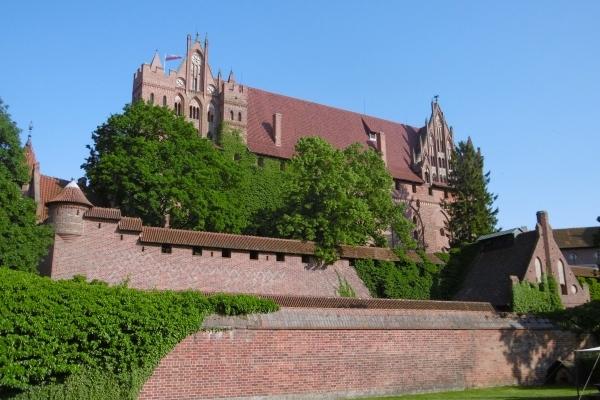 Pologne, Château des chevaliers Teutoniques de Malbork