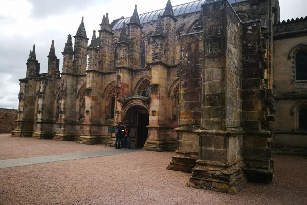 Ecosse rosslyn chapel