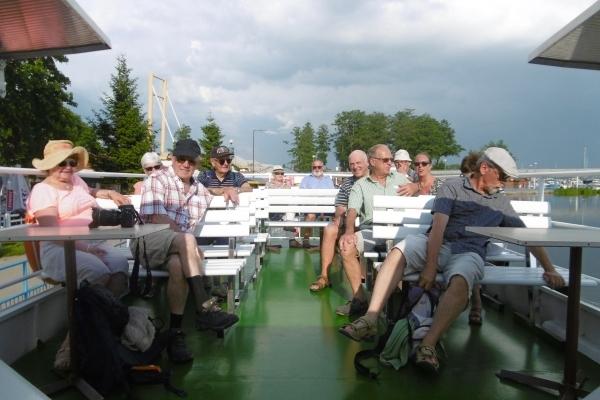 Pologne, Coisière sur un lac de Mazurie