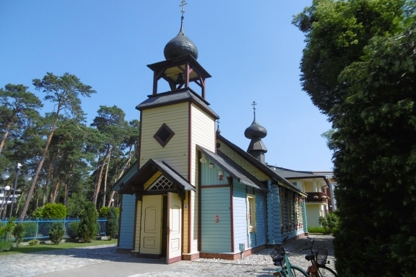 Pologne, Eglise en bois