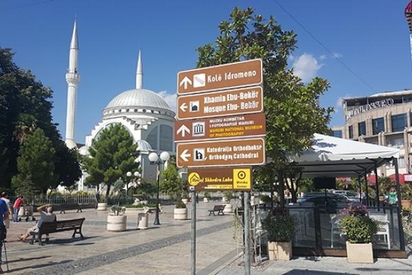 Albanie, Skhoder, Mosquée Ebu beker