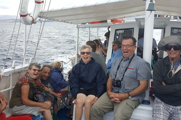 GRECE, Corfou, excursion en mer