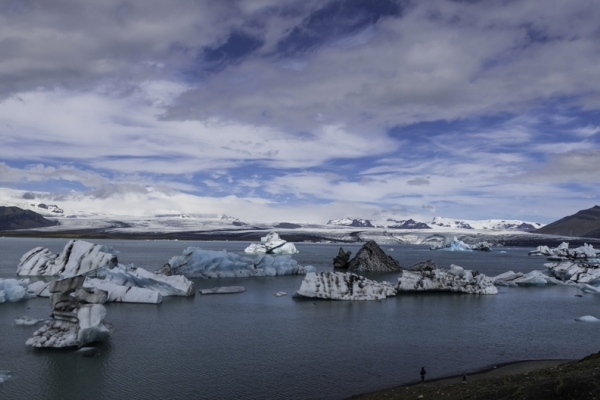 Islande & îles Féroé, Jokulsarlon et le glacier Vatnajokul