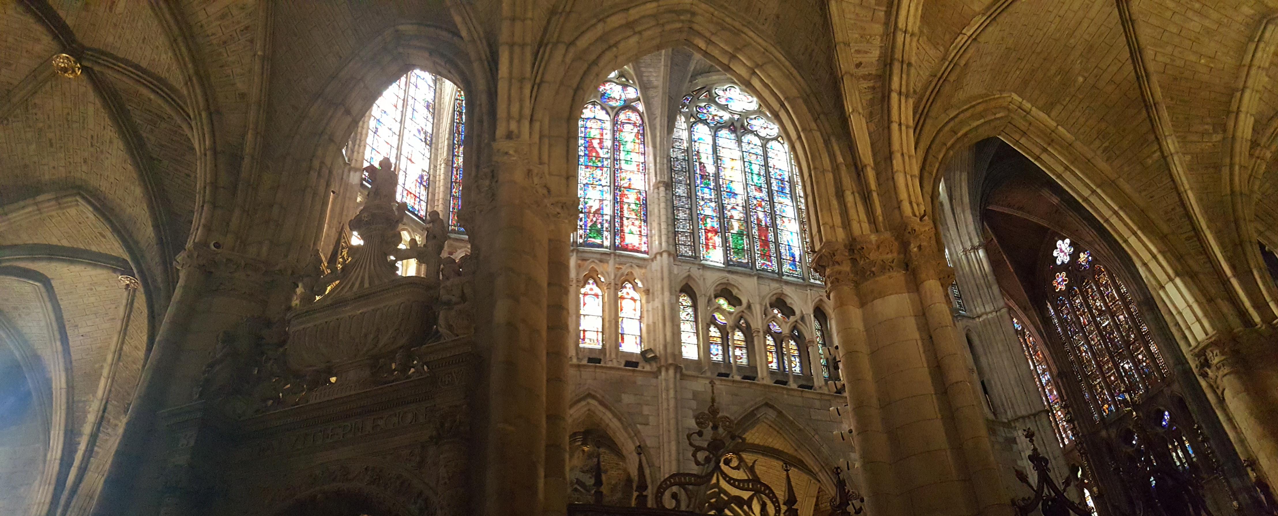 Les vitraux de la cathédrale de Léon