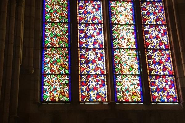 Les vitraux extra-ordinaires de la cathédrale de Léon