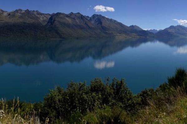 Nouvelle Zélande, Queenstown, Lac Wakatipu
