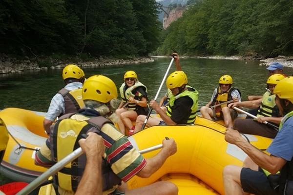 Monténégro, rafting dans le Canyon de la Tara
