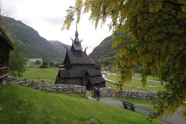 Cap Nord - Eglise en bois debout