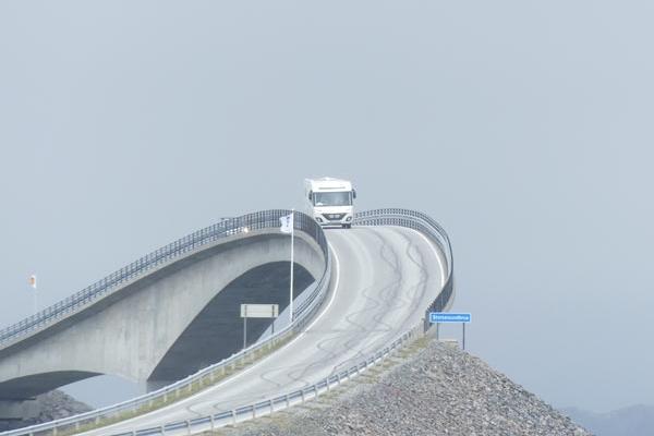 Cap Nord - Route de l'Atlantique