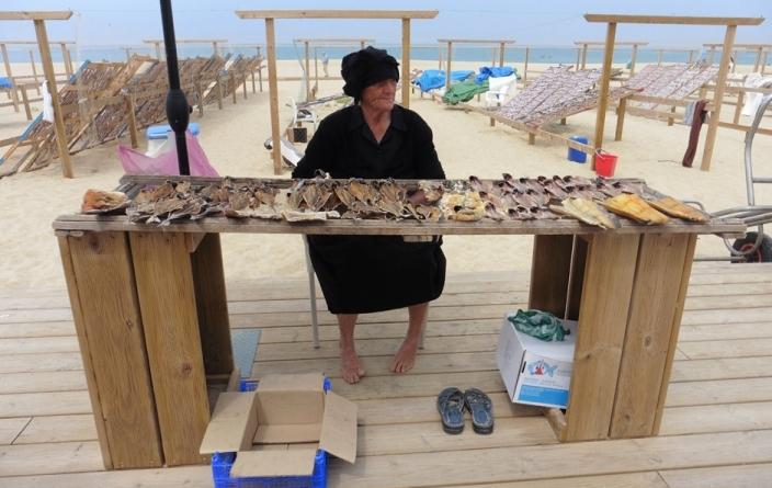 Portugal vendeuse de poissons
