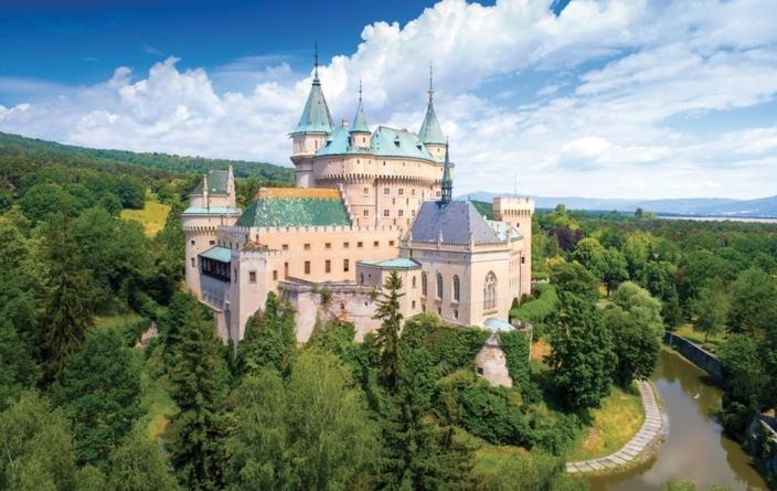 Rép. Tchèque, Chateau de Bojnice