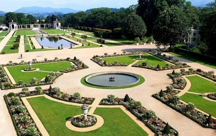 les jardins d'Arnaga