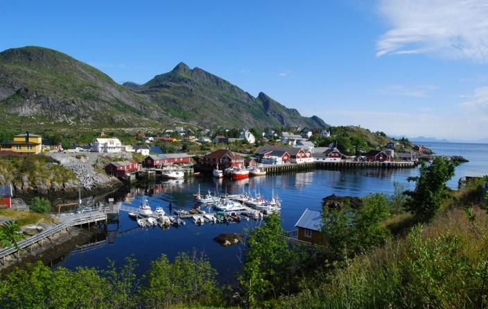 Cap Nord, fjord norvégien
