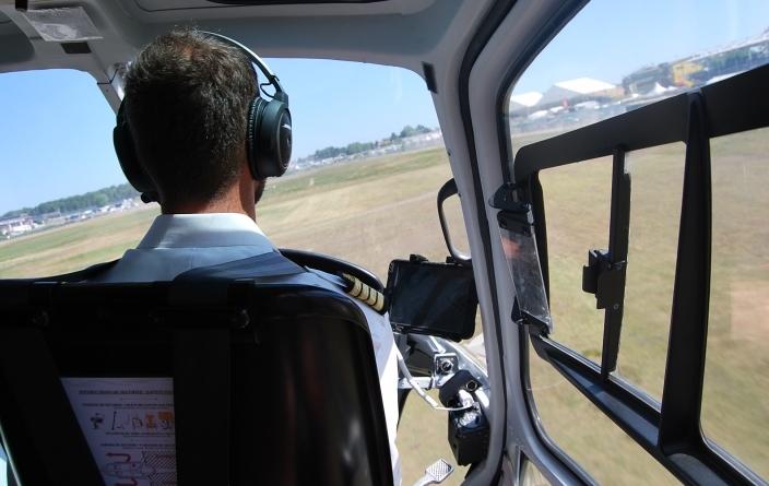 24 Heures du Mans - Survol en hélicoptère