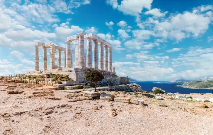 Grèce, Temple Poséidon