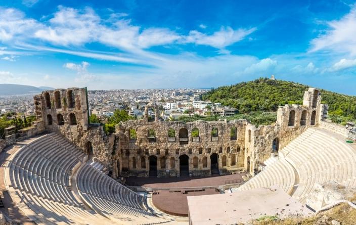 Grèce, Théâtre Athènes