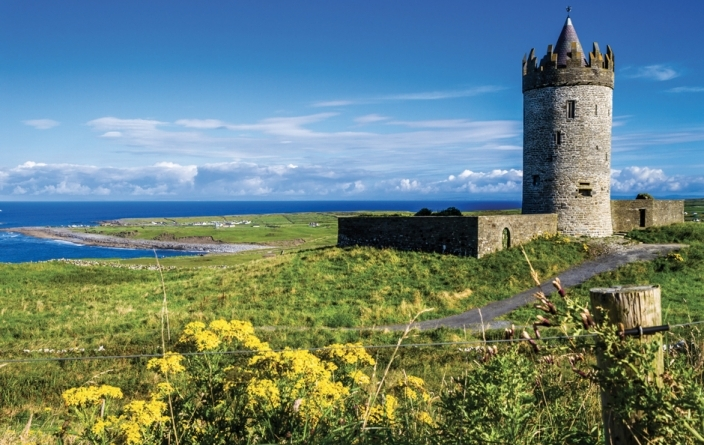 Irlande, Doolin Castle