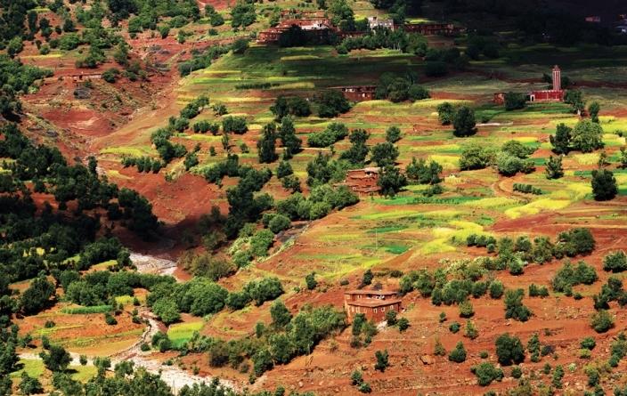 Maroc, Atlas