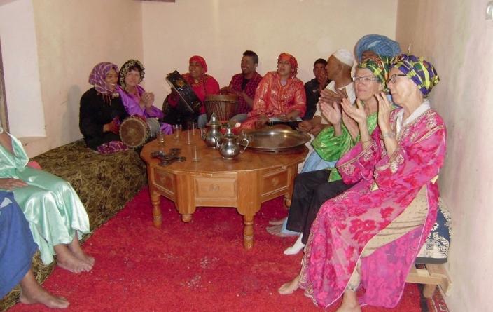 Maroc - dîner folklorique