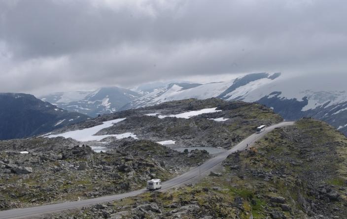 Norvège, route du glacier vers Briksdal