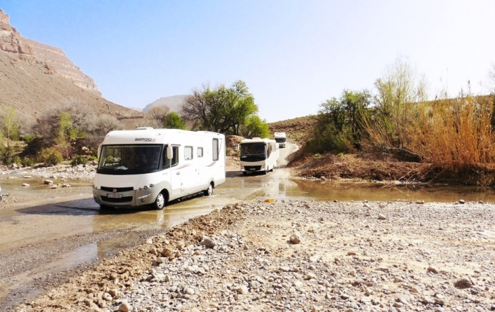 Camping-Car Maroc 40jrs