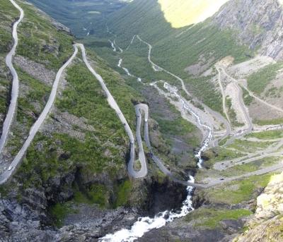Cap Nord, route des Trolls