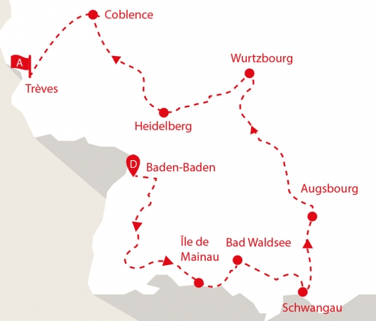 Allemagne carte