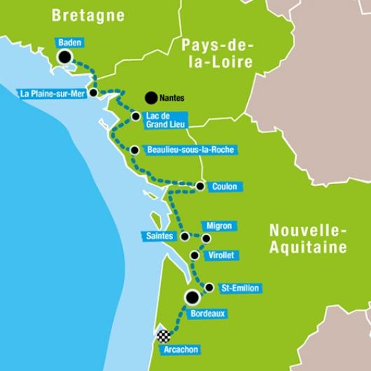 Carte Arc Atlantique