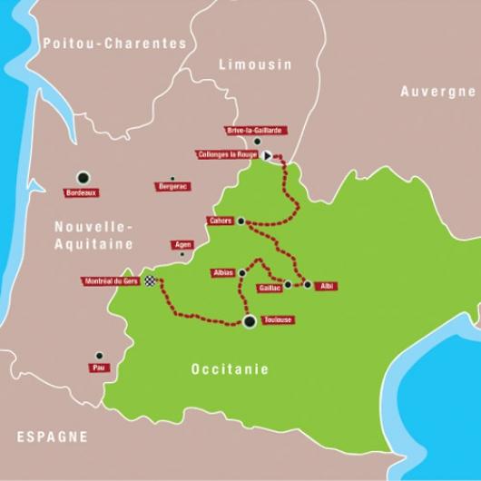 Carte Quercy